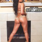 Lia Leigh @IamLeigh_ in Straight Stuntin Issue #33