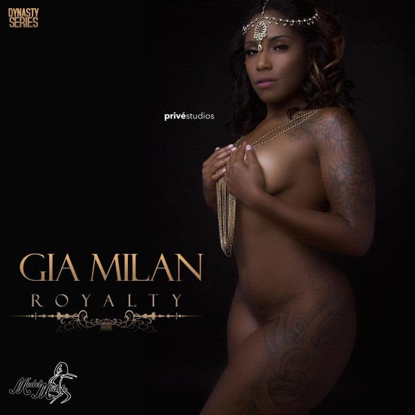 Gia Milan @its_giamilan: Royalty - Prive Studios and Model Modele