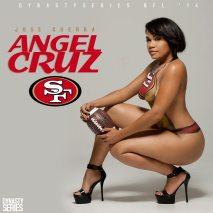 Angel Cruz @karmela.sweetz: NFL Bodypaint – San Francisco 49ers – Jose Guerra