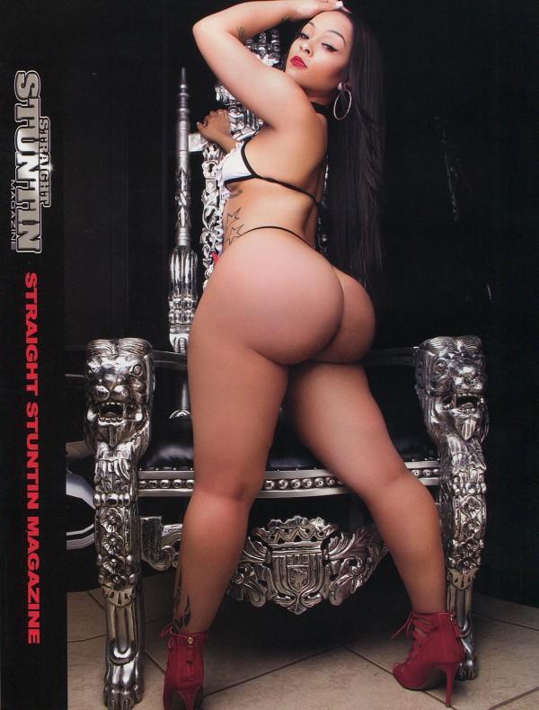 Mercedes Morr @missMercedesMorr in Straight Stuntin Issue 34