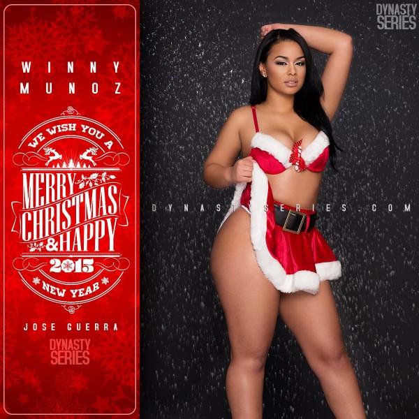 Winny Munoz @imbadder: Very Merry Christmas – Jose Guerra