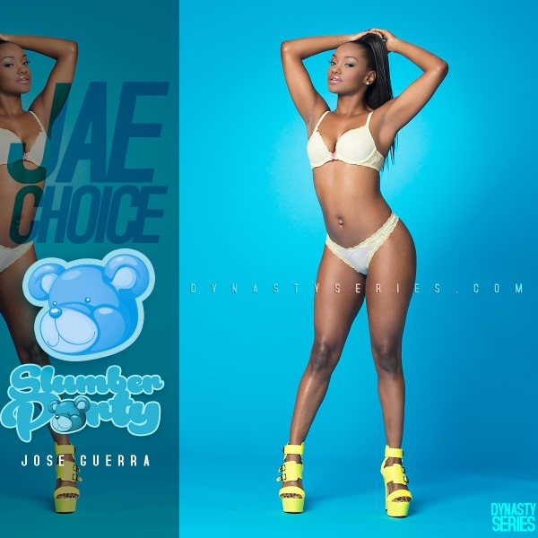 Jae Choice @jaechoice: Lingerie Slumber Party – Jose Guerra