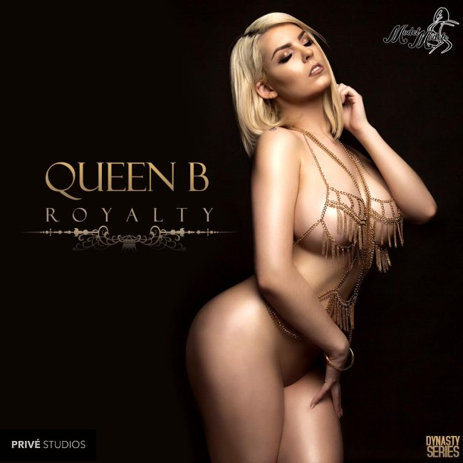 Queen B @salutetheequeenb: Royalty – Prive Studios and Model Modele