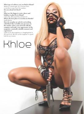 Khloe the Komeup - BlackMenDigital Previews