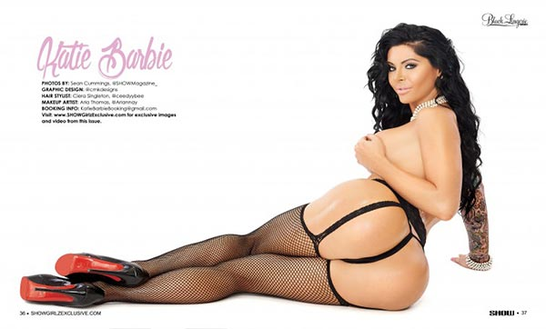Katie Barbie @Katie_Barbie in Black Lingerie #23 - SHOW Magazine