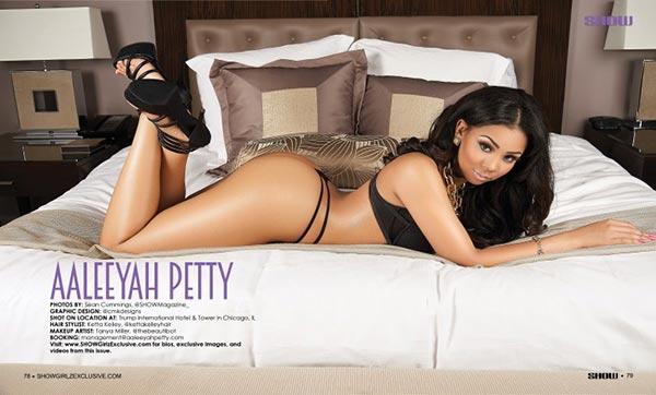 Aaleeyah Petty @aaleeyahpetty in SHOW Magazine #29
