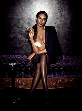 More of Eugena Washington in Girl's Night Out - Playboy