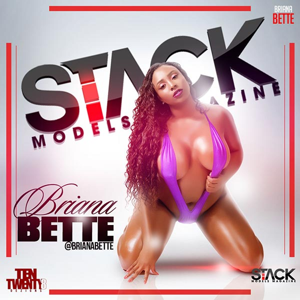 Briana Bette @BrianaBette - StackModels Magazine Print Issue #3 Preview