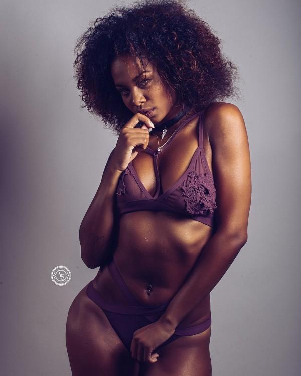 Destiny Hopkins @supamogul: Violet Streak - Vick Suero