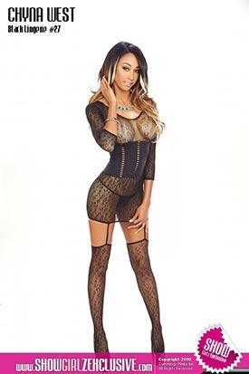 Chyna West in SHOW Magazine