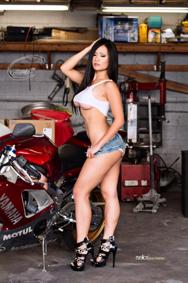 CurvesENT presents Ela Pasion at AAAutoworks