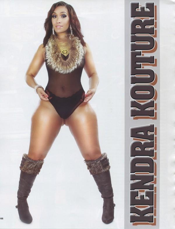 Kendra Kouture in Straight Stuntin Magazine #45