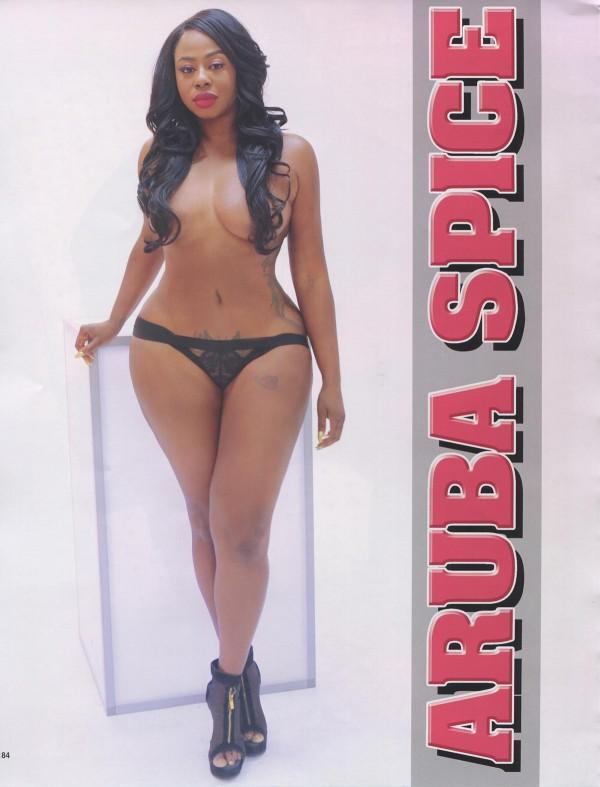Aruba Spice in Straight Stuntin Magazine #45