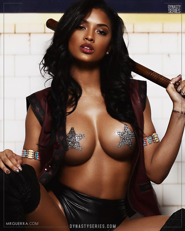 Marilyn Melo: The Warriors Part Deux - Jose Guerra x Artistic Curves