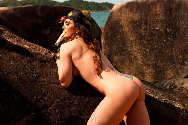 Núbia Óliiver x Diamond Brazil