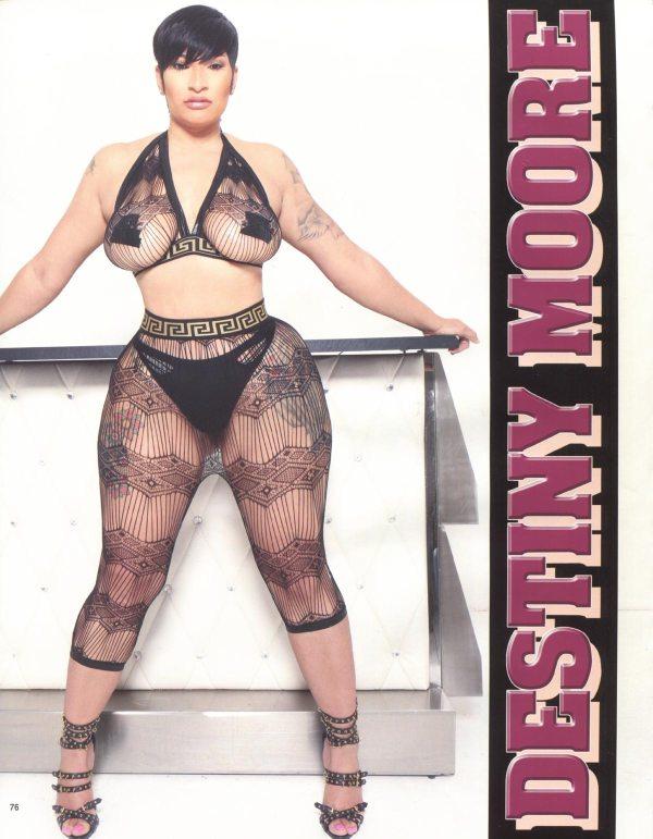 Destiny Moore in Straight Stuntin Magazine #46