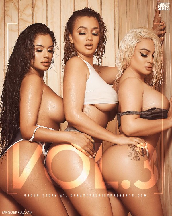 Sabbina x Erica Monique x Superstar Jess: DynastySeries™ Presents Volume 3: Sauna - Bonus Preview