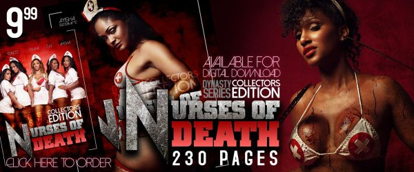 Ayisha Diaz: DynastySeries Collectors Edition - Nurses of Death