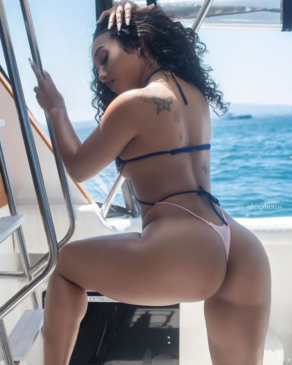 Savanna @fineasssavanna x Lisa @lisa.wanwisa x Cyndi @high.maiintenance x Nisha J @itsnishaj: Yachting Season - J. Alex Photos