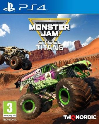 Monster Jam Steel Titans PS4 PKG