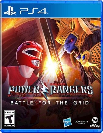 Power Rangers: Battle For The Grid PS4 PKG