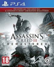 Assassin's Creed III Remastered PS4 PKG