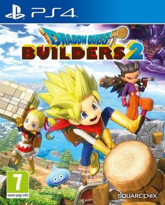 DRAGON QUEST BUILDERS 2 PS4 PKG