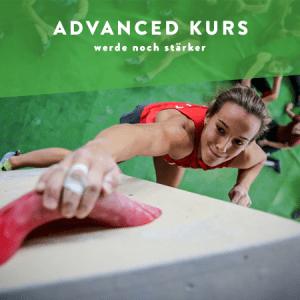 Advanced Kurs -  Boulderkurse zum noch stärker werden