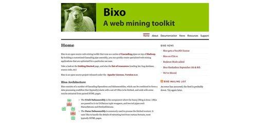 openbixo website crawler