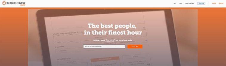 people per hour freelance website