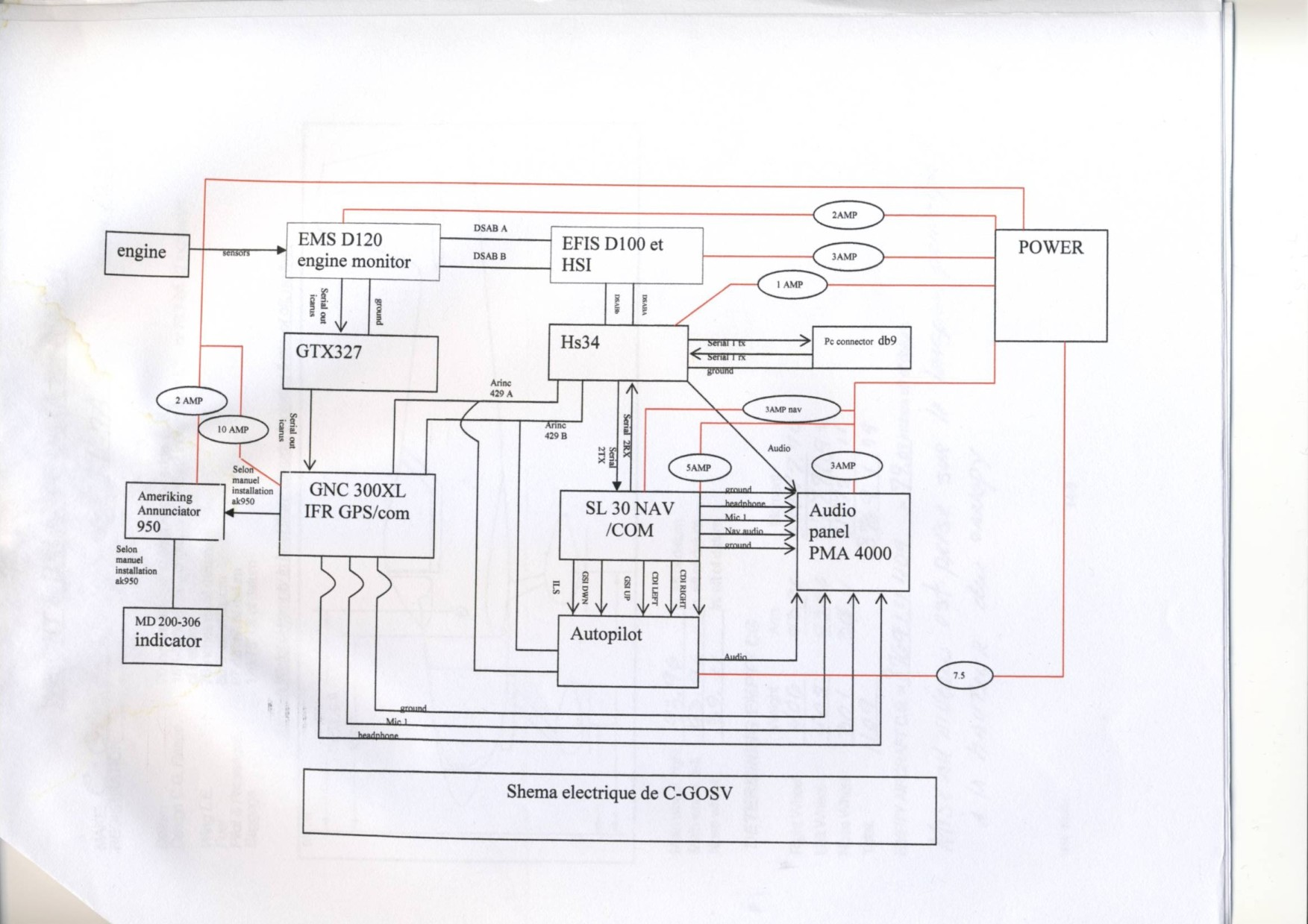 aircraft gps systems wiring diagrams