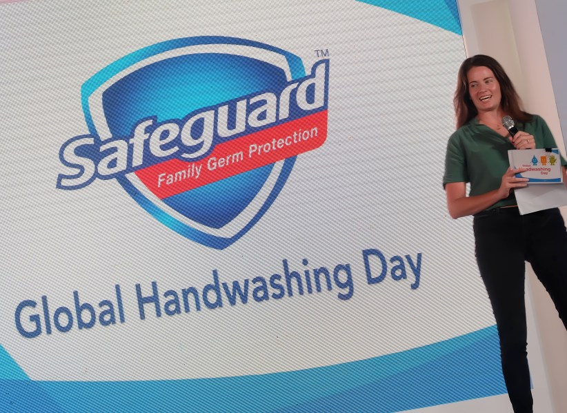dyosathemomma: Alden Richards Safeguard Global Handwashing Day partnership, director Catherine Moore