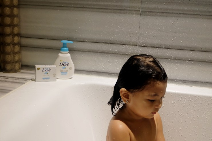 dyosathemomma: Baby Dove PH, gentle products for sensitive baby skin. Real Moms