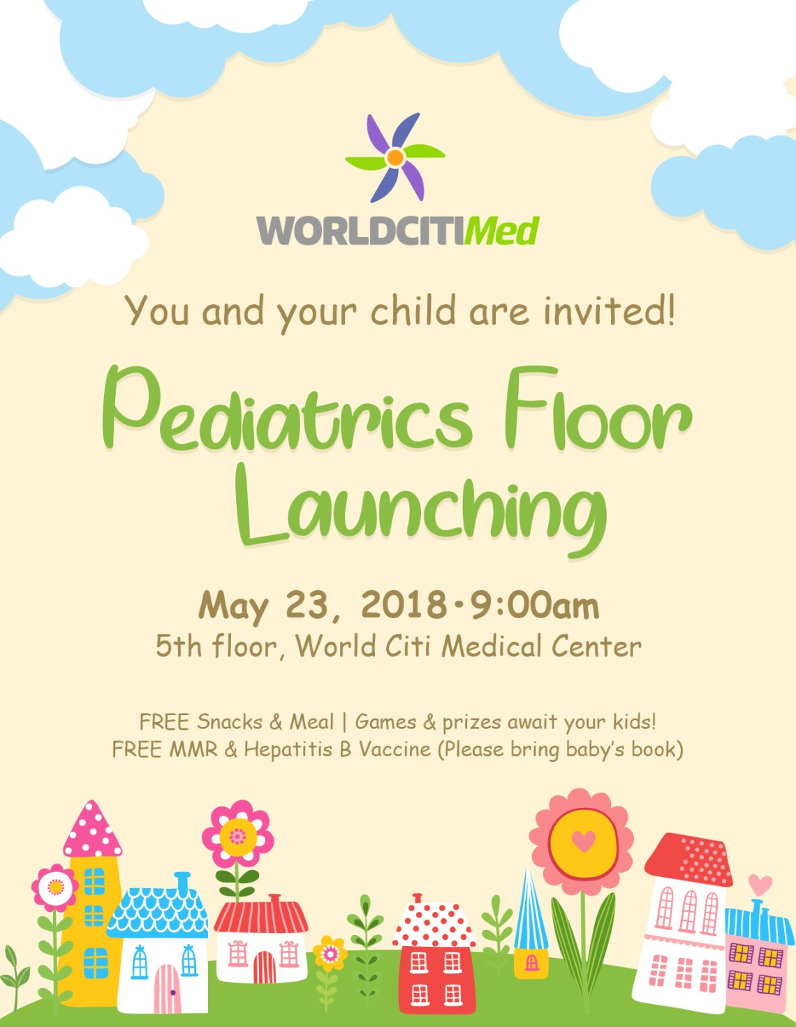 dyosathemomma: World Citi Med Pediatrics Floor Launch