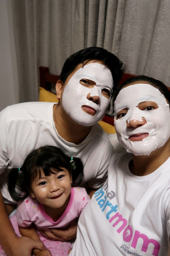 dyosathemomma: Dermairis Korean Face Mask, night beauty regimen for moms and pregnant women
