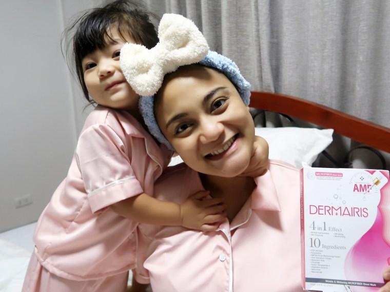 dyosathemomma: Dermairis Korean Face Mask skin care for moms, AmariaNish