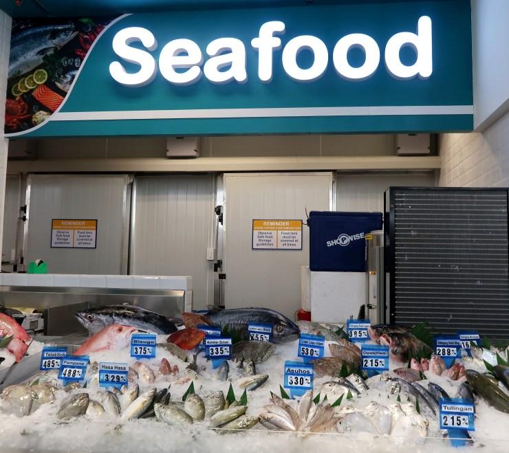 dyosathemomma: Shopwise Circuit Makati, seafood