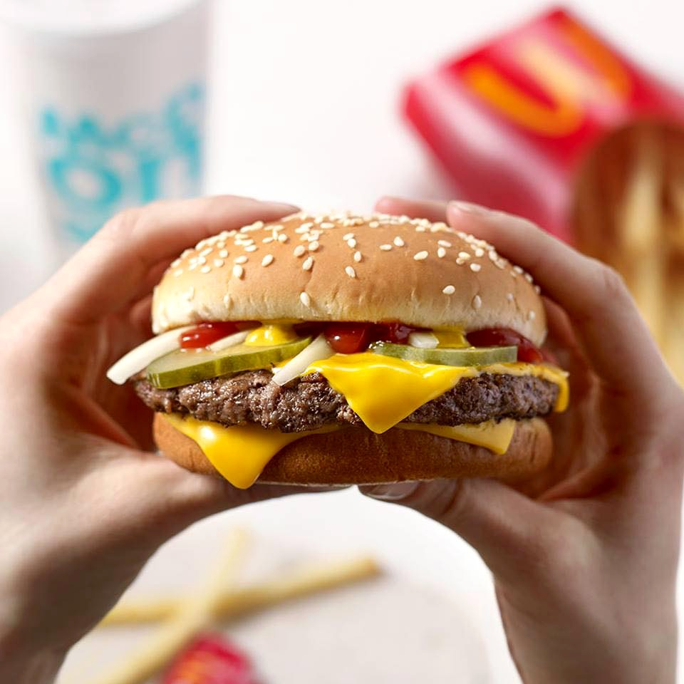 dyosathemomma: McDelivery-Cheeseburger Meal