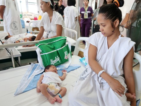 dyosathemomma: Absolute Wellness Month, new moms, Fabella Hospital