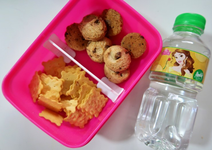 dyosathemomma: Snackeroo Biscuits, Baon Tips for Busy Moms, Back-to-school baon ideas, Amaria Niszha
