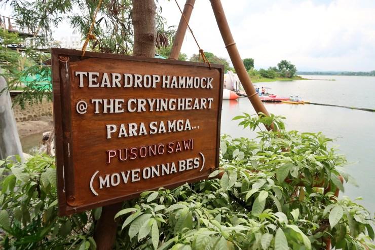 dyosathemomma: San Rafael River Adventure Resort in Bulacan Review, mommy blogger ph, teardrop hammock