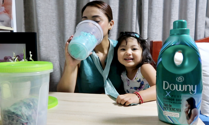 dyosathemoamma: Downy Kontra Kulob Review, mommy blogger ph, AmariaNish