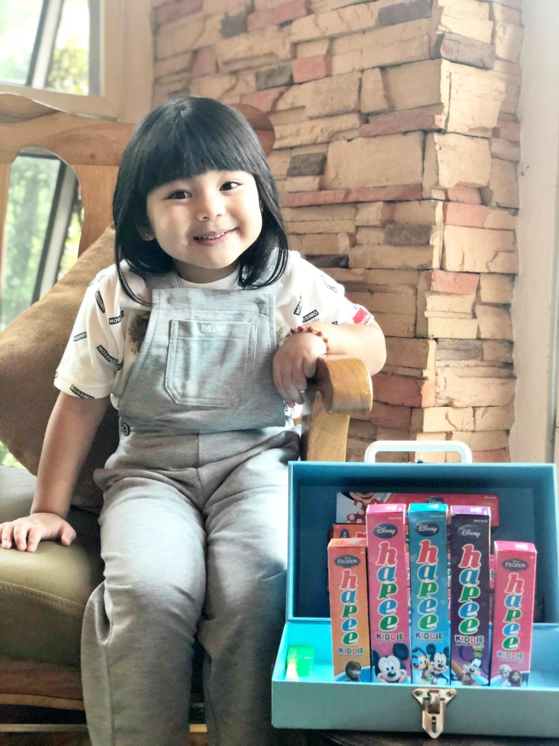 dyosathemomma-Ways To Help Your Kid Enjoy Brushing-Amaria Niszha-mommy blogger ph-Hapee Kiddie Toothpaste