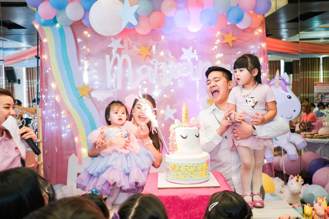 dyosathemomma: First Birthday party Ideas-unicorn theme-Mariana Jazrine-Amaria Niszha-mommy blogger ph-sweets corner-kiddie party ideas-unicorn cake