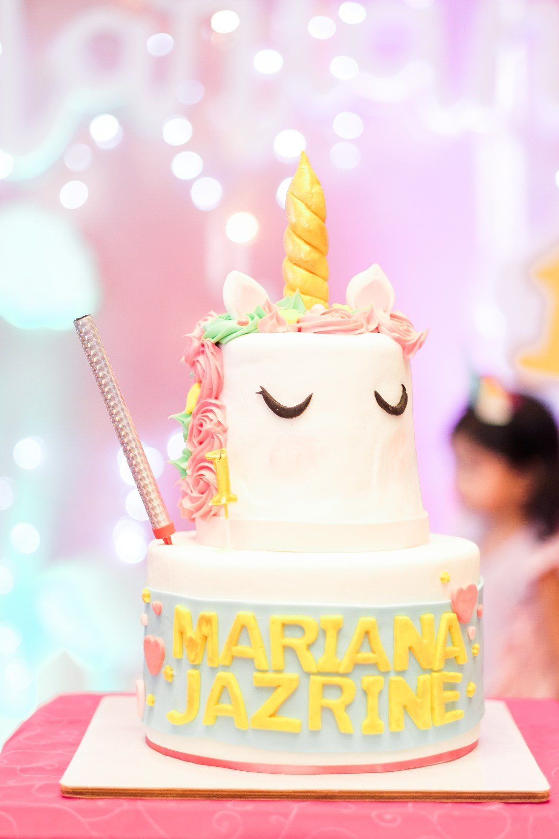 dyosathemomma: First Birthday party Ideas-unicorn theme-Mariana Jazrine-Amaria Niszha-mommy blogger ph-sweets corner-kiddie party ideas-Craving Bites PH