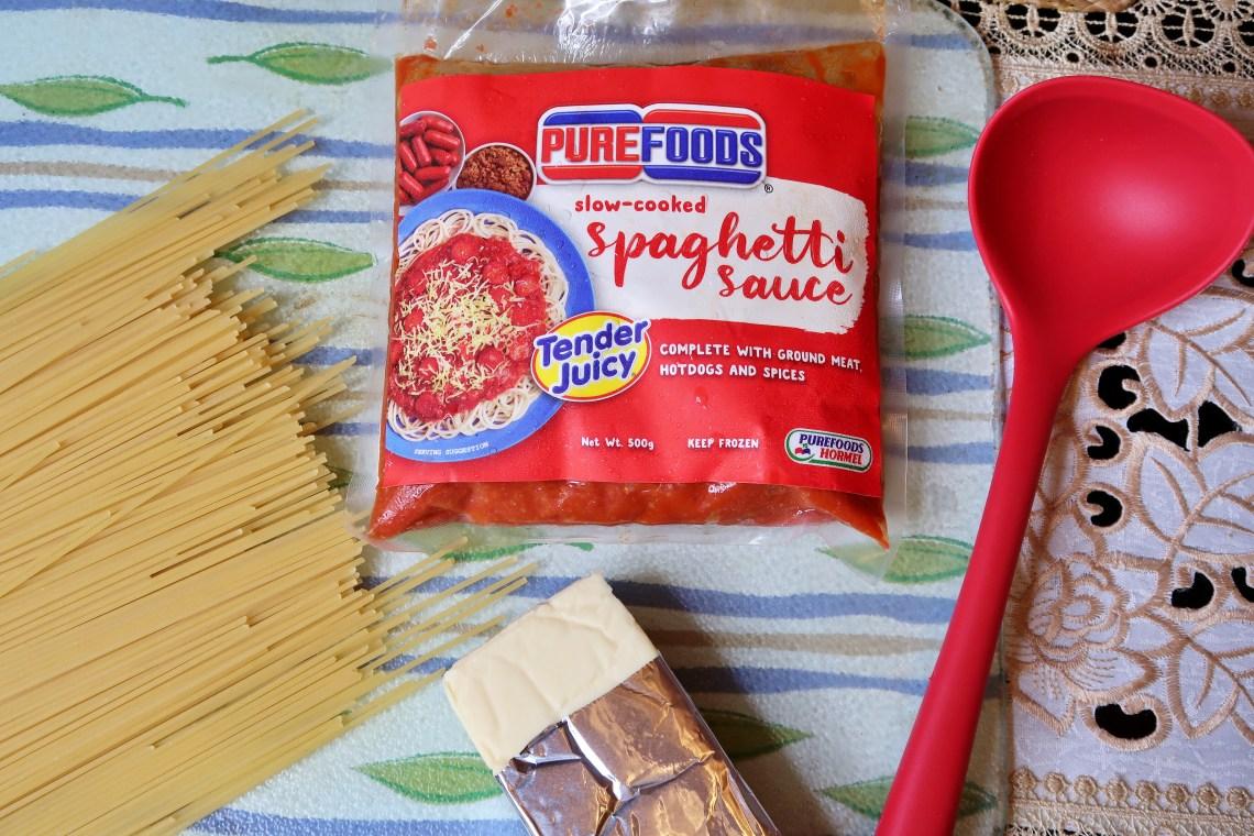 dyosathemomma-Purefoods Slow-cooked Spaghetti Sauce with the #1 TJ Hotdog-mommybloggerph