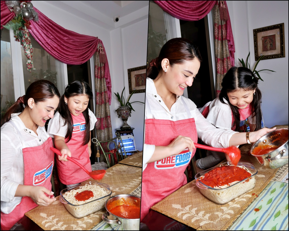 dyosathemomma-Purefoods Slow-cooked Spaghetti Sauce with the #1 TJ Hotdog-mommybloggerph