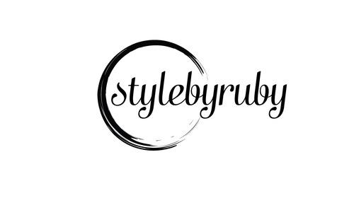 logo for a fashion stylist by Rubygeorgina