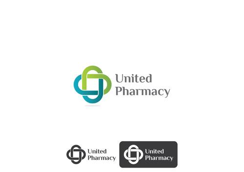 Logo for United Pharmacy by Bkarpinski7