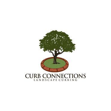 logo landscape curbing concrete